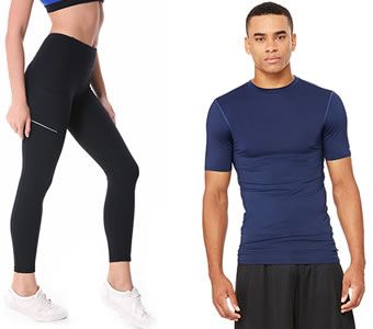 Activewear typically made in Vietnam